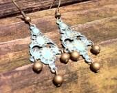 Patina Chandelier Earrings