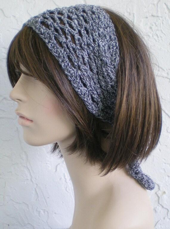 hand crochet headband head wrap Bandana dorag scarf hat
