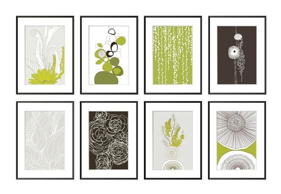 Save 30% on your choice of 4 Giclee prints - Organic Collection