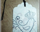 25 Custom Hang tags for RoyalSparrowCouture