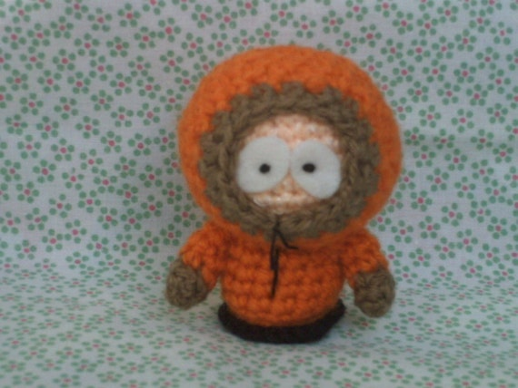 Amigurumi Stan Kyle Cartman and Kenny dolls South Park