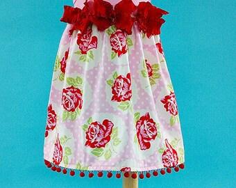 Shabby London Rose Custom Dress Newborn to 4T