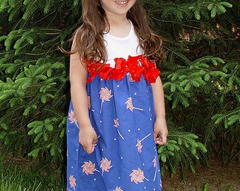 Miss Firecracker Size 12m to 4T Custom Dress 4th July