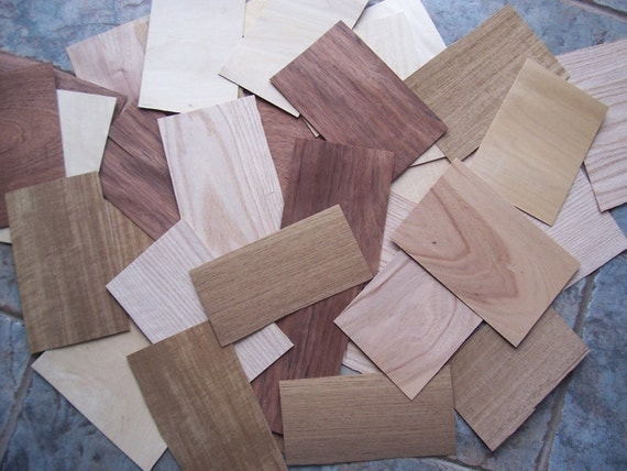 46 Small Veneer Sheets For Crafts Inlay Marquetry Intarsia