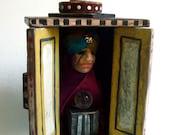 The Fortune Teller - Original small scupture