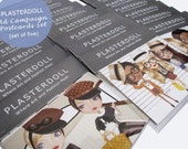 Plasterdoll Postcards Set (Set of 5) - Advertising Campaign
