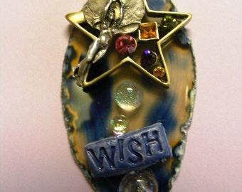 FairyGlass Celestial Star Fairy Pendant