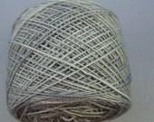 Silver Grey...Superwash Merino Wool and Nylon Sock Yarn...Fingering Weight