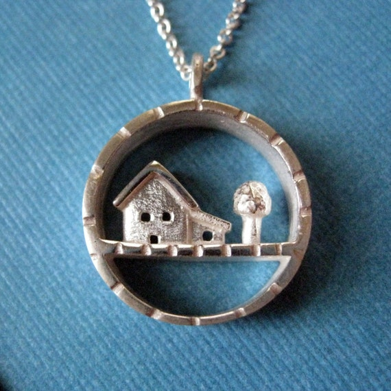 Sterling Silver Little Yard Necklace