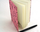 Spanish Countryside Journal - Hardcover Blank Book with Pink and Black Cover