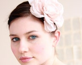 Gorgeous handmade silk bloom - Made to order - headband or comb