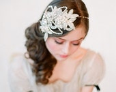 Bridal headband, rhinestone and crystal, bridal hair - Glimmering rhinestone headband - Style 132 - Made to Order