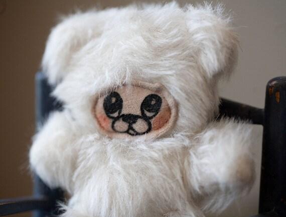 Stuffed Animal Bear White Little Teddy Plush Mini