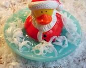 Ho Ho Ho Santa Duck Soap