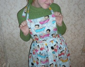 Bathtub Betty Boop Apron... a very generous one size fits all