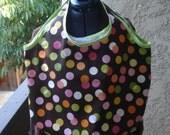 Brown Polka Dot Charlie Bag