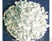 Supplies Mosaic Tiles 500 White Shades of White Broken Plates Tessera Pieces