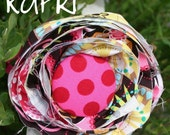 Pretty. Messy. flower headband- Kapri