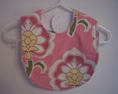 SALE Modern Flower Punch Bib