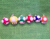 Mario Mushroom necklace (assorted colors)