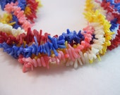 Cupolini Coral in Red, White, Blue, Pink and Orange Yellow 200 pieces Sample Set