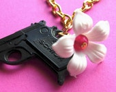 Guns and Roses Necklace