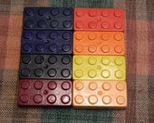 Building Brick Crayons Recycled/Upcycled