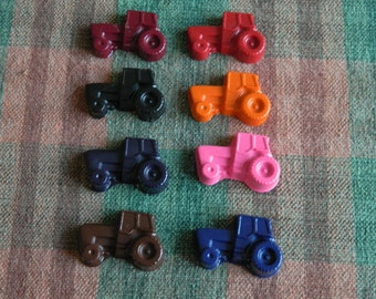 Tractor Crayons Recycled/Upcycled