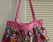 SALE - Large Morgan Bag in Amy Butler's Soul fabric