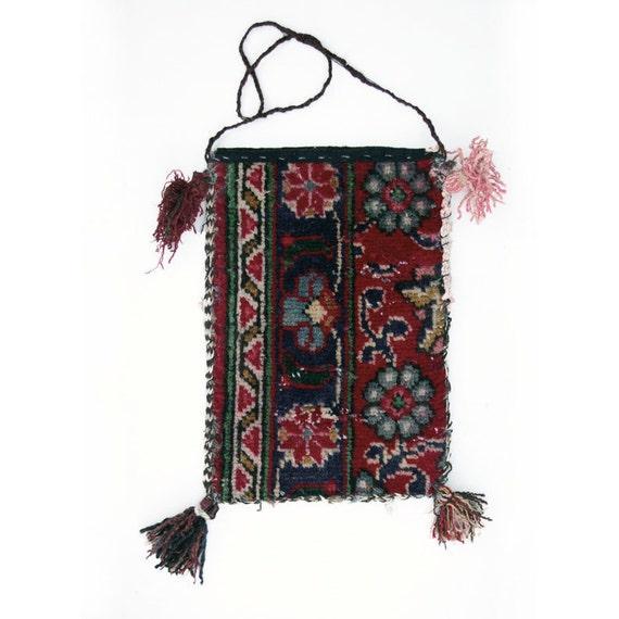 Afghanistan- Handwoven Carpet Bag, Item 6