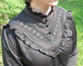 Victoriana corporate goth blouse XXL