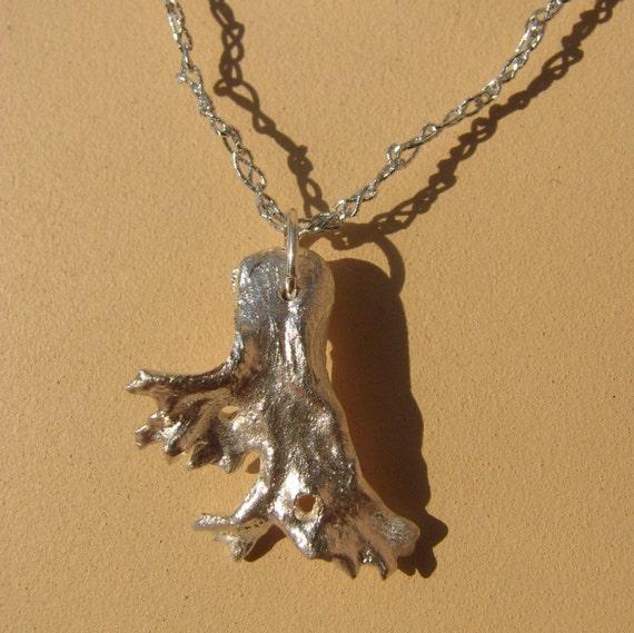 """Silver """"Coral""""  Pendant"""