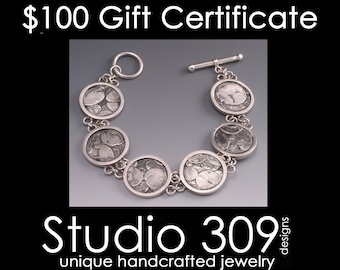 Gift Certificate for 100 Dollars to Studio 309 Designs
