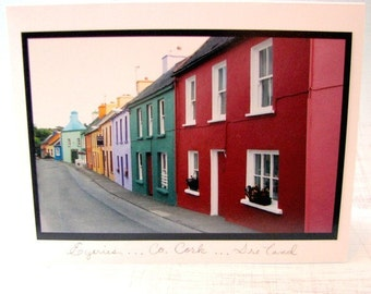 Irish photo card ...small country town of Eyeries, Co. Cork Ireland