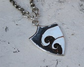 Surfing jewelry surfer necklace sterling silver surf pendant by zulasurfing