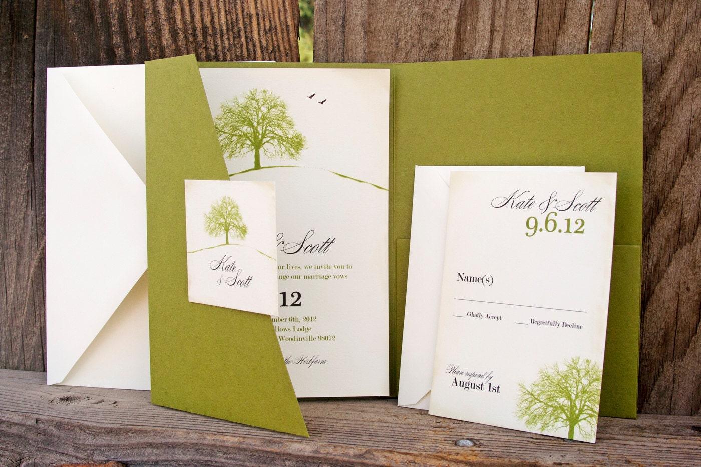 Environmentally Friendly Wedding Invitations: Under The Big Tree Kiwi Nature Loving Wedding By Mavora On