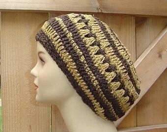 Dread Beret Hemp Wool Slouchy Beanie Hippie Dreadlock Tam Hat