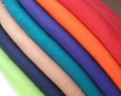 Orange Crib Bedding - Organic Cotton - Fitted Crib