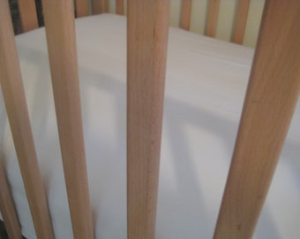 Organic Crib Sheet - Fitted - SALE - LAST ONE