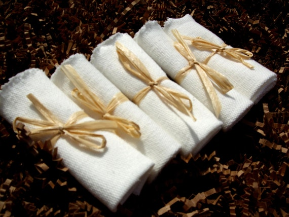 ORGANIC Baby Wash Cloths - 6 Pack Special - LAST ONE