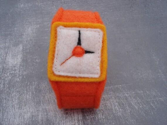 Felt Wrist Watch for Pretend Play
