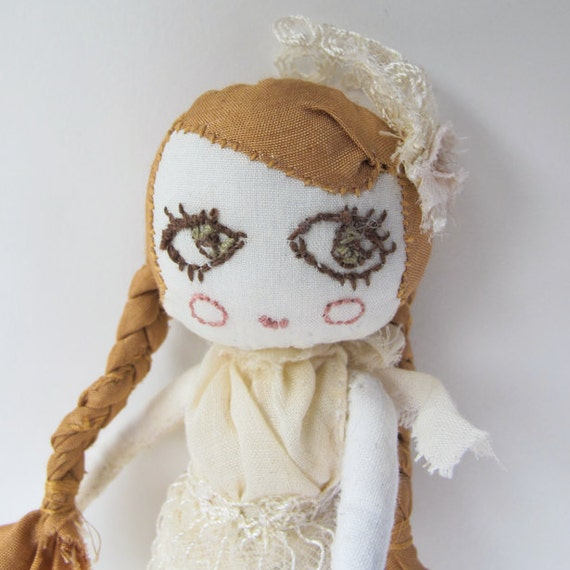The Spring Maiden handmade art doll