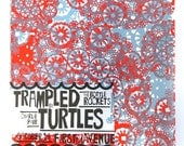 Trampled By Turtles Rock Poster
