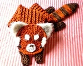 Red Panda Longbottom Scarf