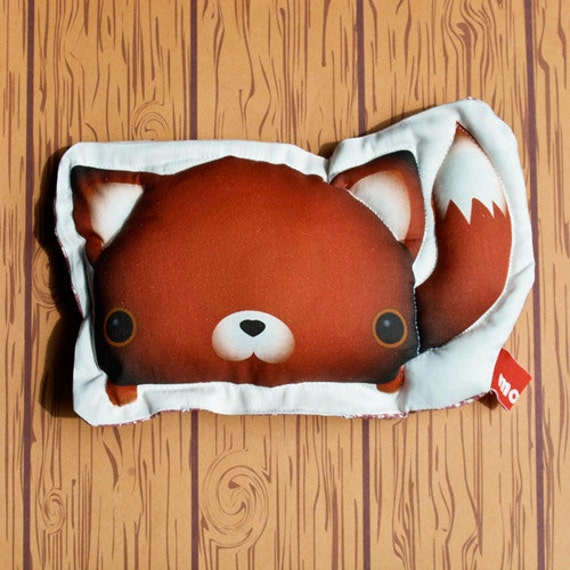 MOCHI -- handmade animal stuffed plush toy -- Kitsu the Fox