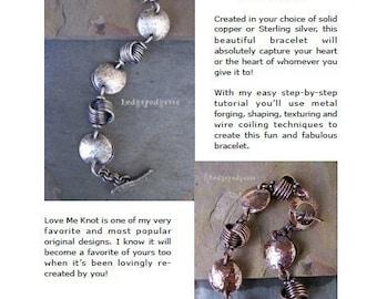 LOVE ME KNOT Bracelet Tutorial