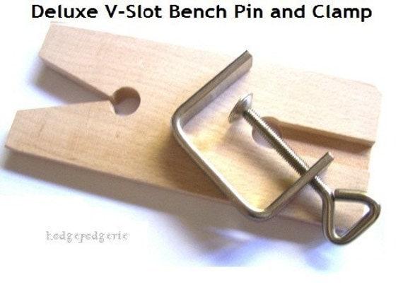 V slot bench clamp