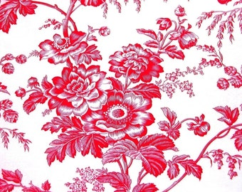 Redwork Romance - one yard