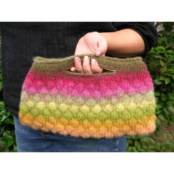 Bubble Stitch Bag Pattern
