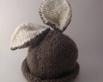 Briar Bunny Baby Hat PDF PATTERN